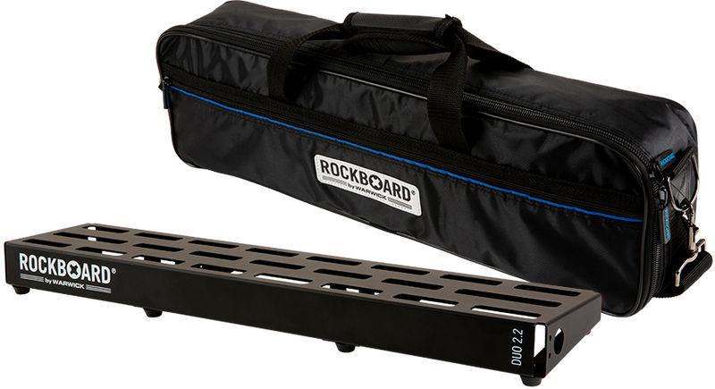 Rockboard Pedalboard w.Gig Bag DUO 2.2