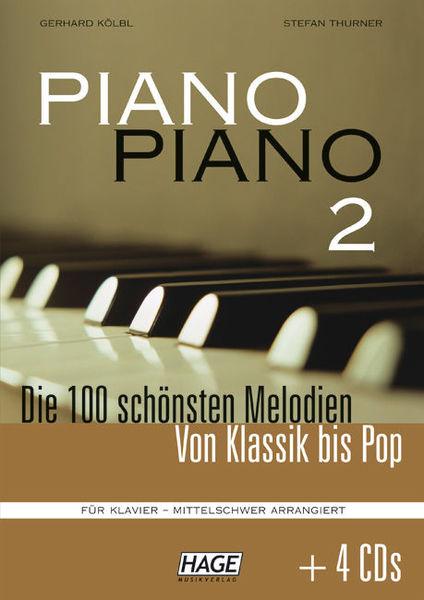 Hage Musikverlag Piano Piano 2 Intermediate +CD
