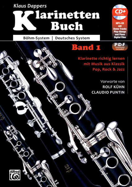 Alfred Music Publishing Klarinettenbuch 1