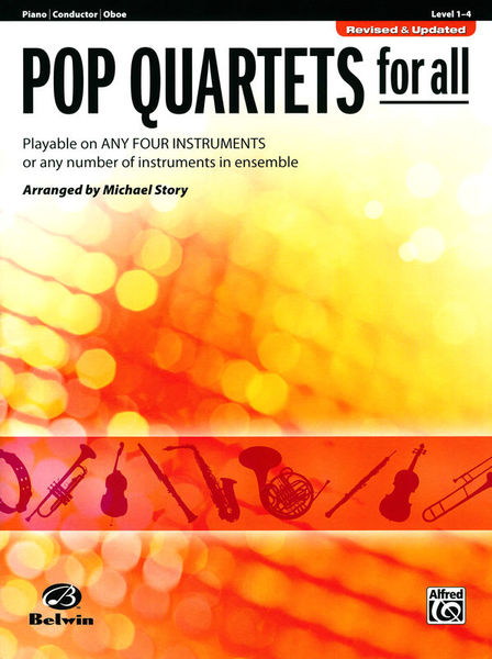 Alfred Music Publishing Pop Quartets For All Piano