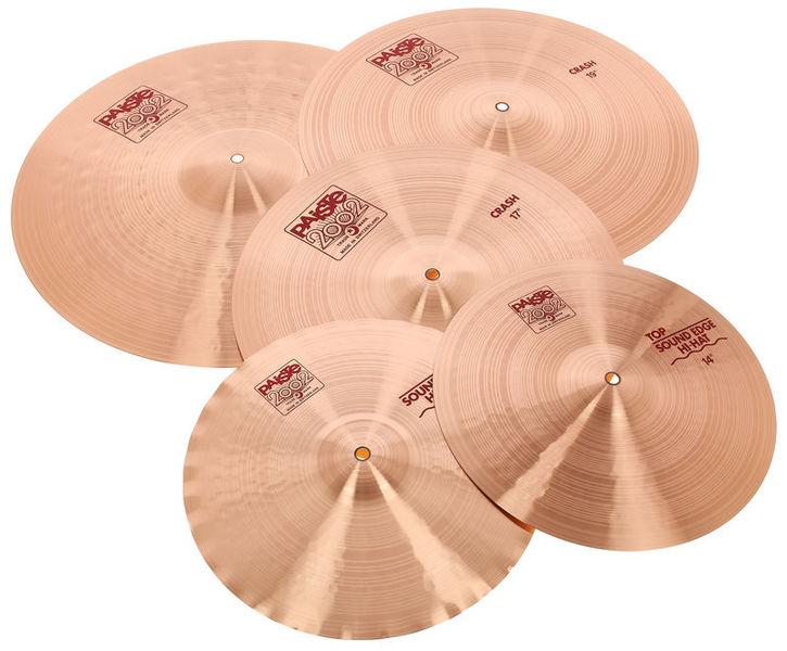 Paiste 2002 odd size Cymbal Set