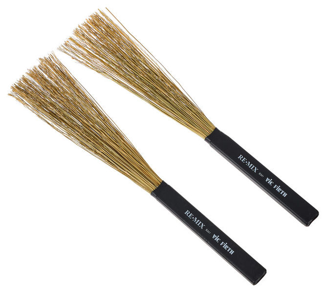 Vic Firth RM1 Remix Brushes Broomcorn