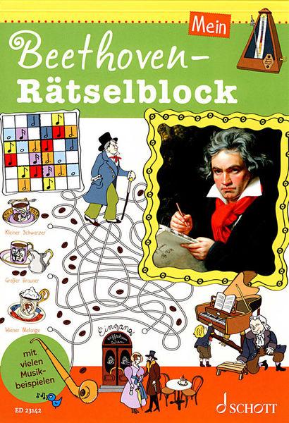 Schott Beethoven-Rätselblock