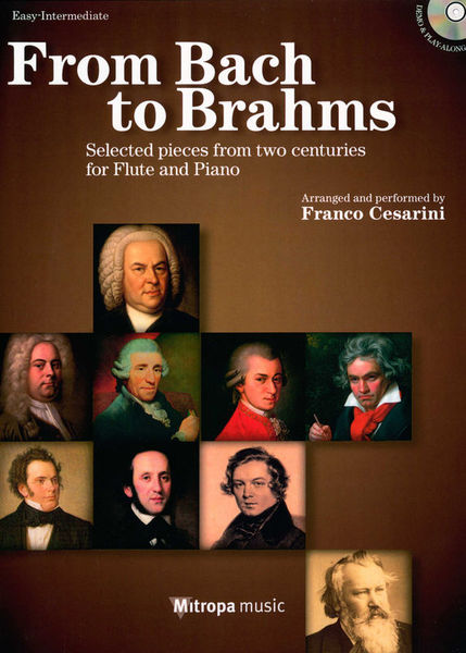 Mitropa Music From Bach To Brahms Flute