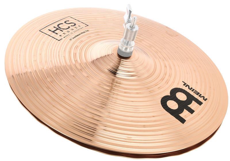 """Meinl 14"""" HCS Bronze Soundwave HiHat"""