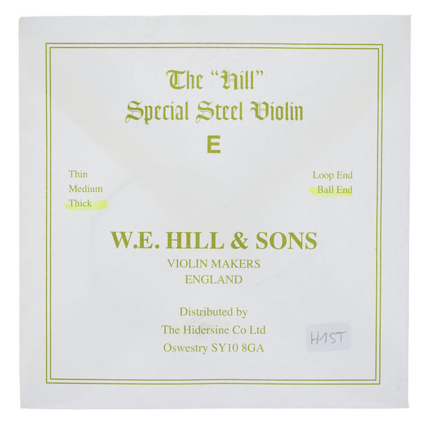 W.E. Hill & Sons E-String 4/4 Strong BE