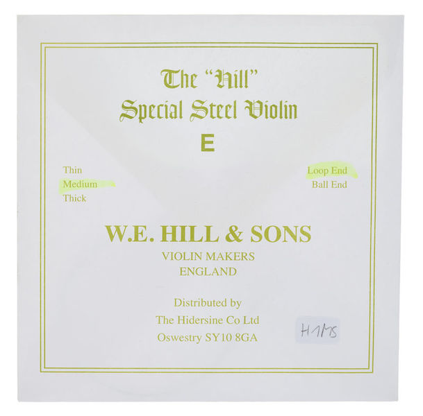 W.E. Hill & Sons E-String 4/4 Medium LP