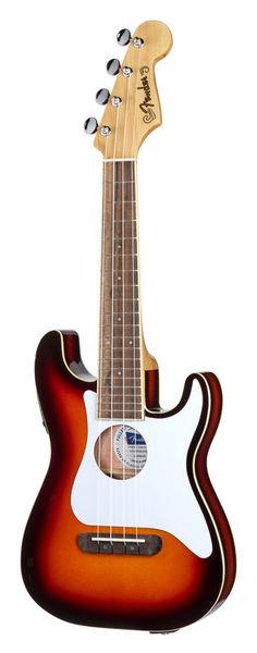 Fender Fullerton Strat Ukulele SB