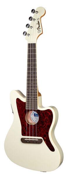 Fender Fullerton Jazzmaster Uku OW