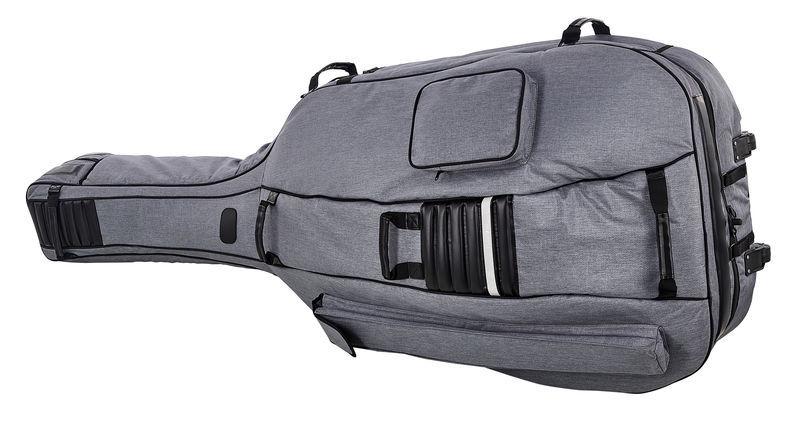 Roth & Junius GreyLine Bass Bag Wheels 4/4