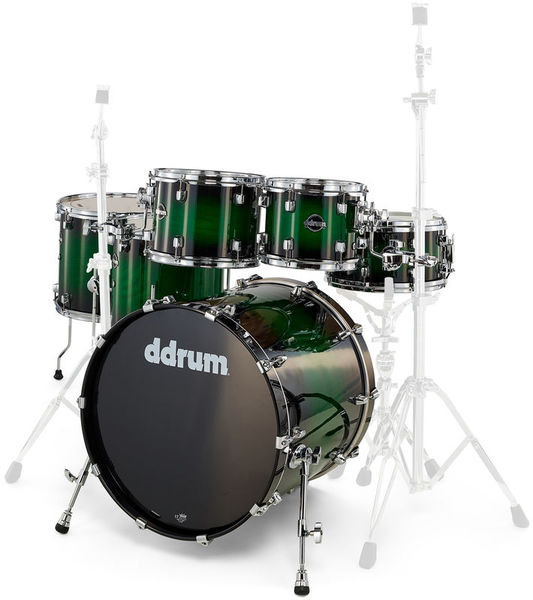 DDrum Dominion 6pc Shell Pack Green