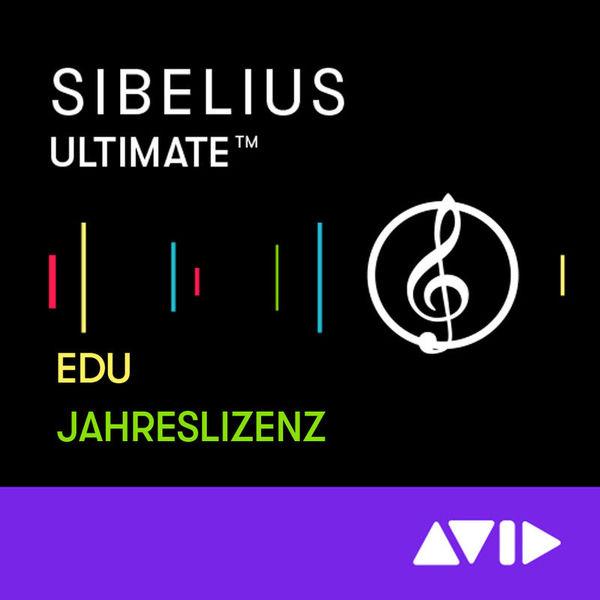 Avid Sibelius Ultimate 1Y Subsc EDU
