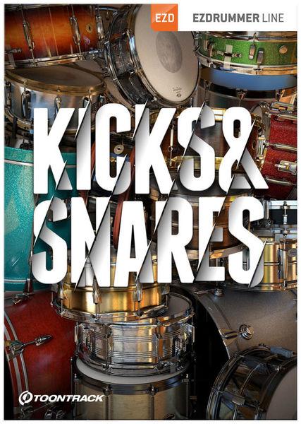 Toontrack EZX Kicks & Snares