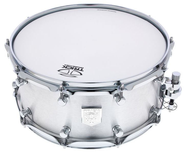 "Trick Drums 14""x6,5"" Raw Polished Alu Sn."