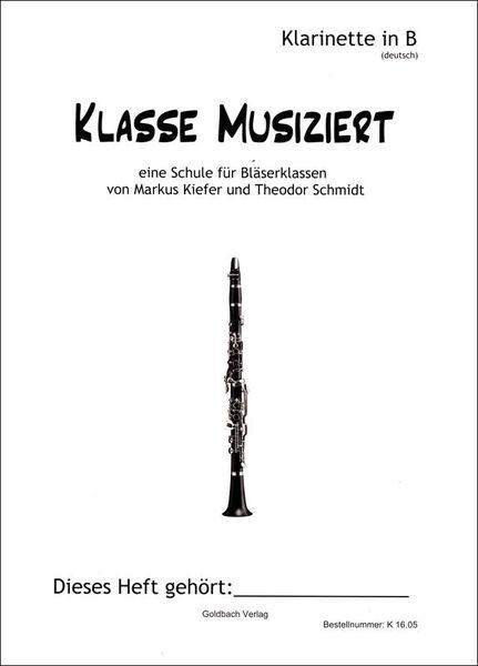Goldbach Verlag Klasse musiziert Clarinet