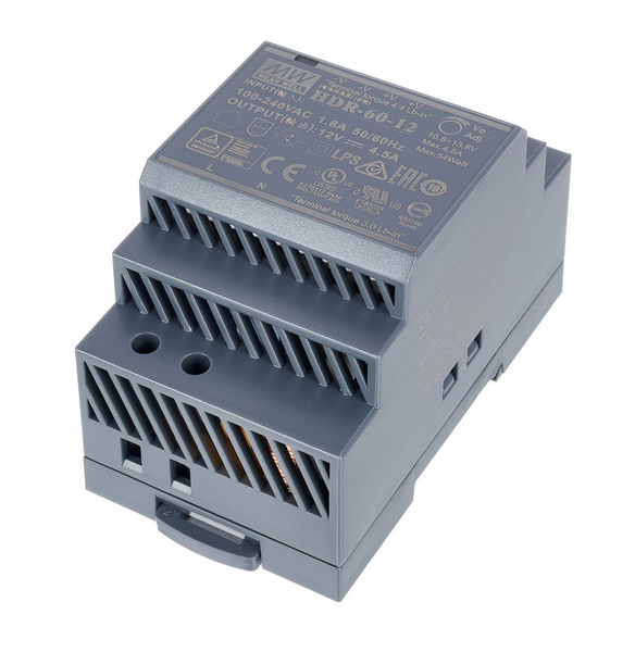 MeanWell HDR-60-12 Power Supply 4,5A