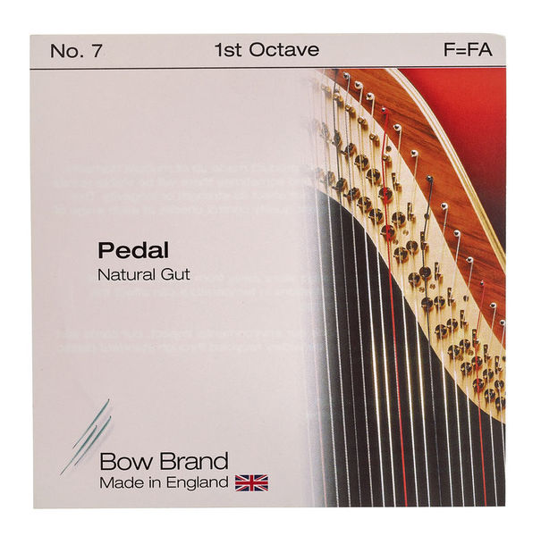 Bow Brand Pedal Nat. Gut 1st F No.7