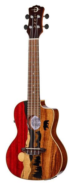 Luna Guitars Uke Vista Bear Concert PU