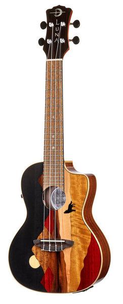 Luna Guitars Uke Vista Wolf Concert PU