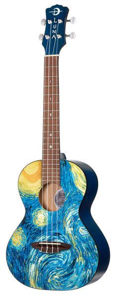 Luna Guitars Uke Starry Night Tenor