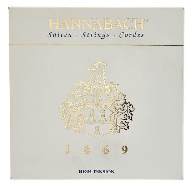 Hannabach 1869 Carbon/Gold HT Set