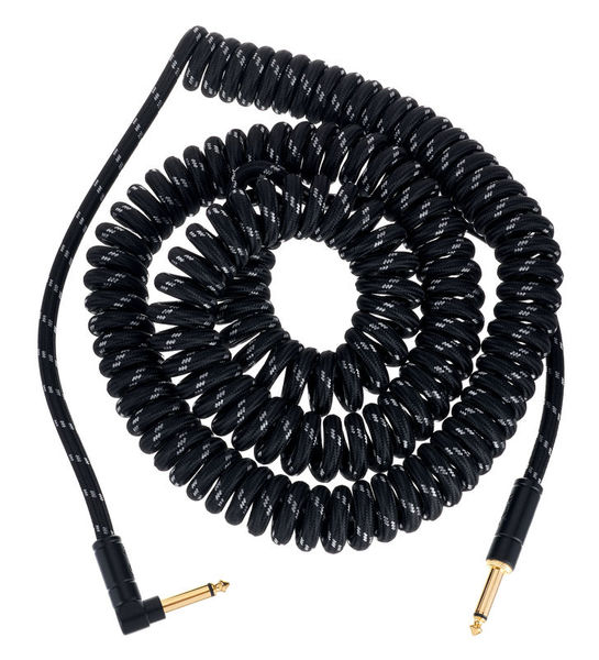 Fender Deluxe Coil Cable 9m BK Tweed