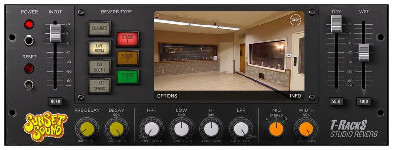 IK Multimedia Sunset Sound Studio Reverb