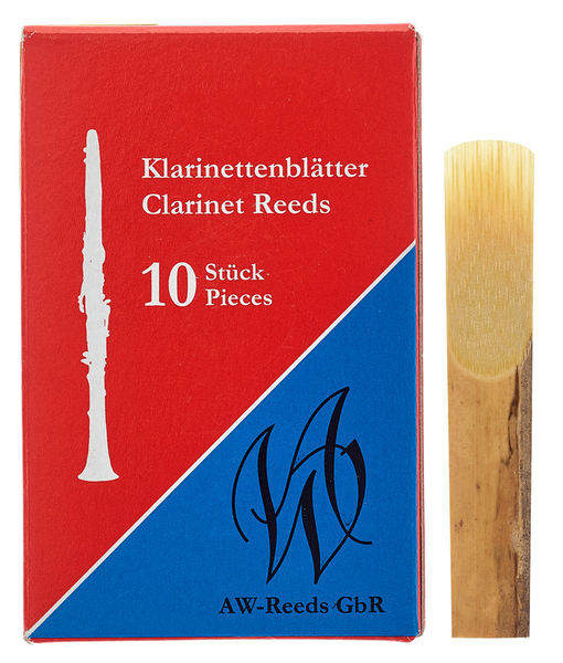 AW Reeds Test Box German 2