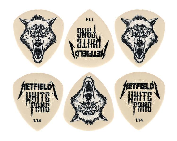Dunlop Hetfield's White Pick 1,14