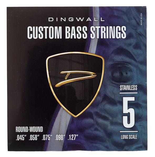 Dingwall 5-Str. Bass 045-127 Set RW SS