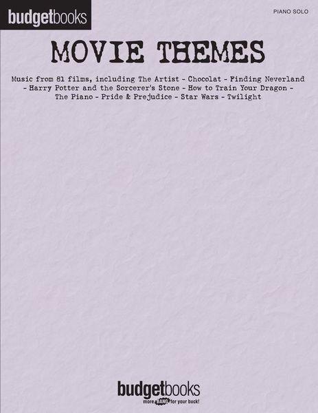 Hal Leonard Budgetbooks Movie Themes
