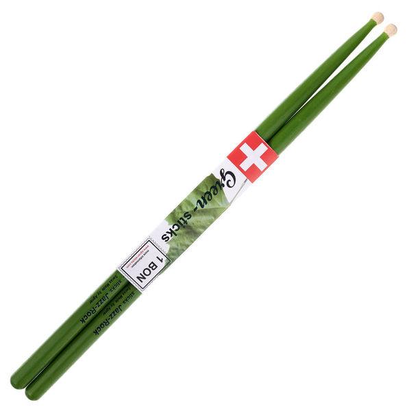 Agner Jazz Rock Green Sticks