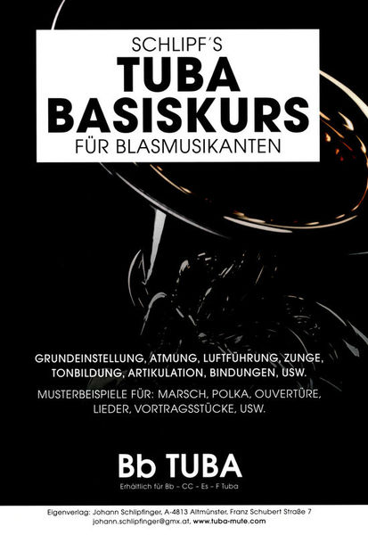 Schlipf Tuba Basic course Tuba in Bb