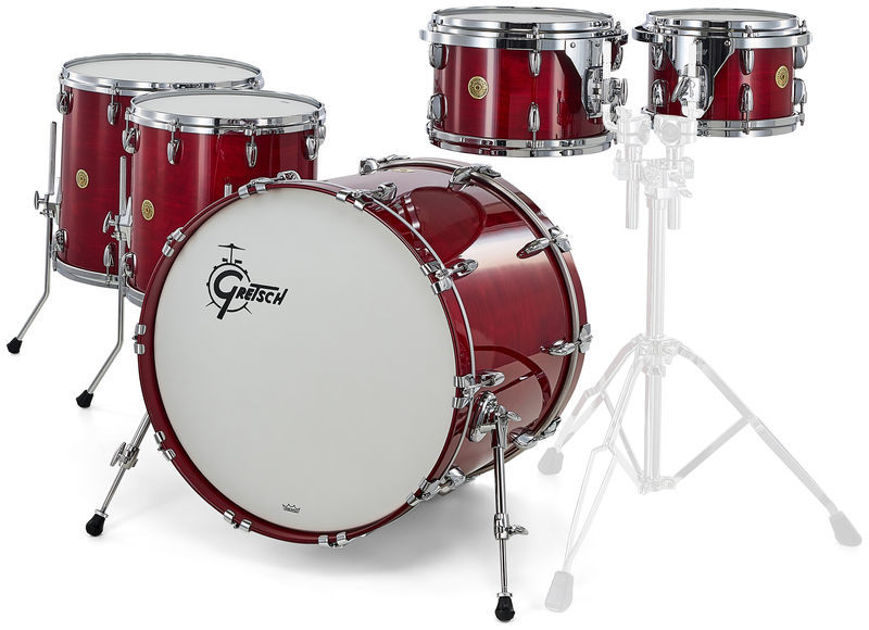 Gretsch Drums USA Custom 2up2down Rosewood