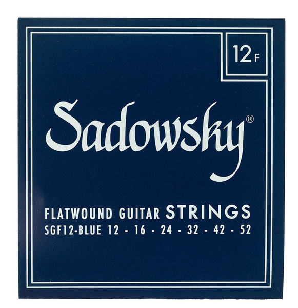 Sadowsky Blue Label Steel FLW 012-052