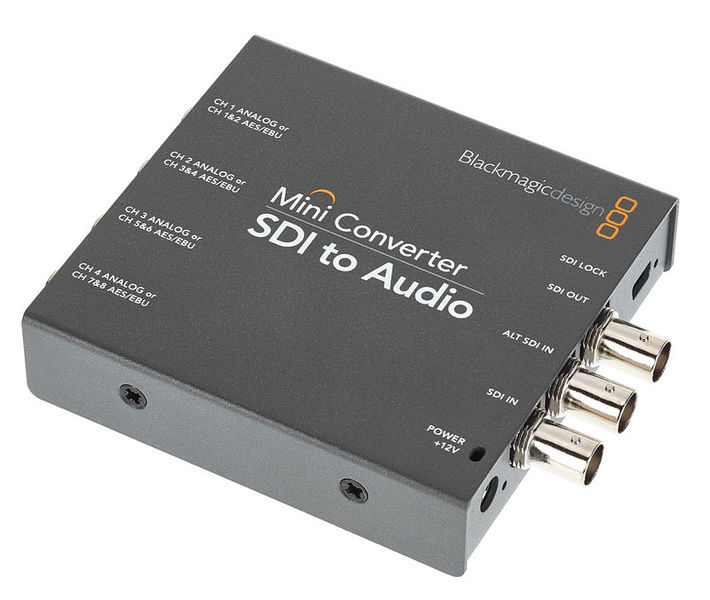 Blackmagic Design Mini Converter Sdi Audio Thomann Uk