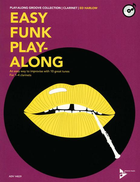 Advance Music Easy Funk Play-Along Clarinet
