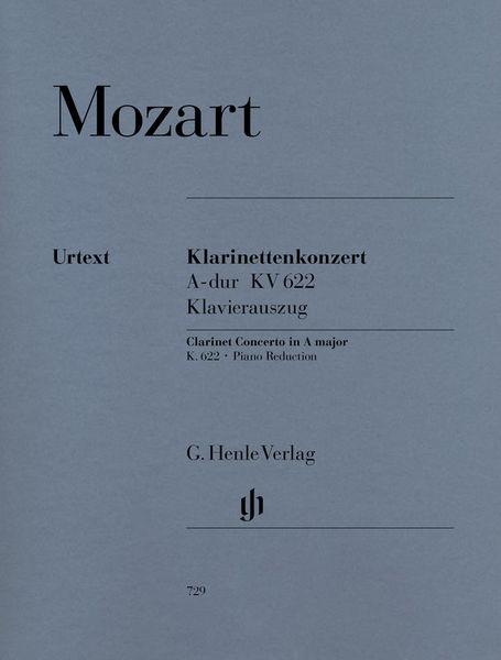 Henle Verlag Mozart Klarinettenkonzert