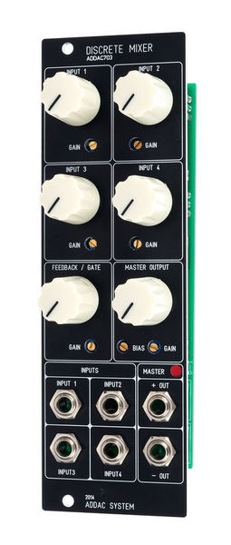 ADDAC 703 Discrete Mixer