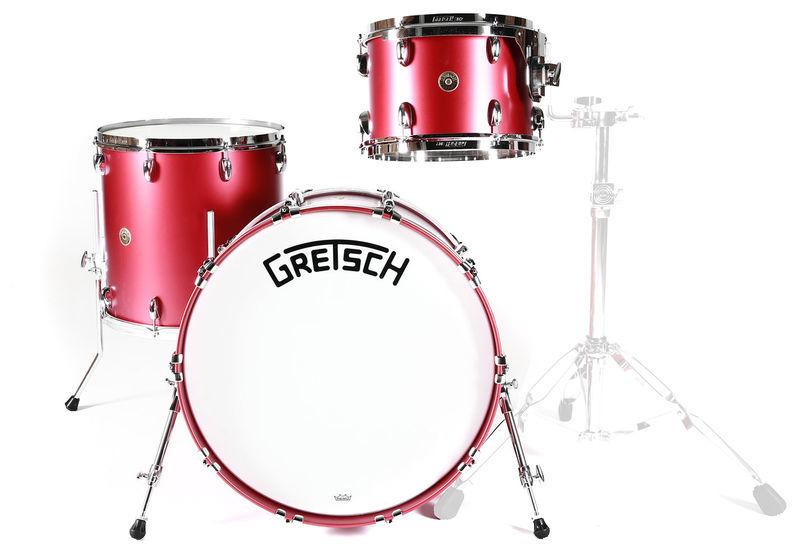 Gretsch Drums Broadkaster SB BK Dakota Red