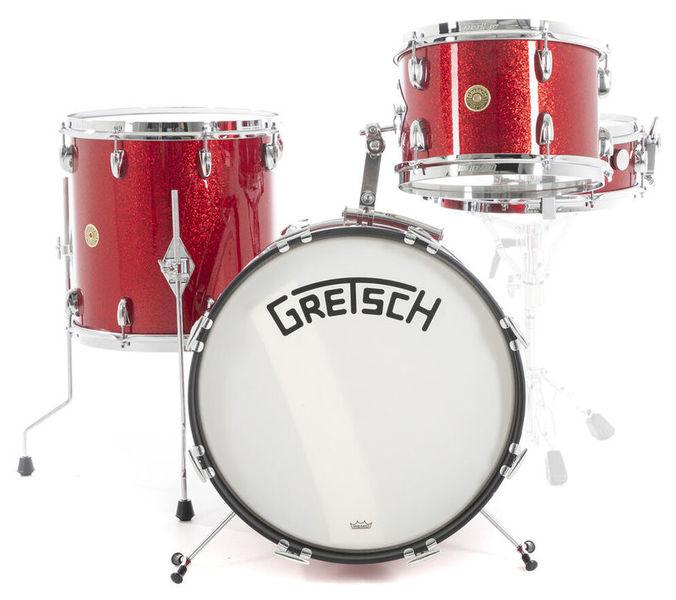 Gretsch Drums Broadkaster VB Jazz Red Spkl.