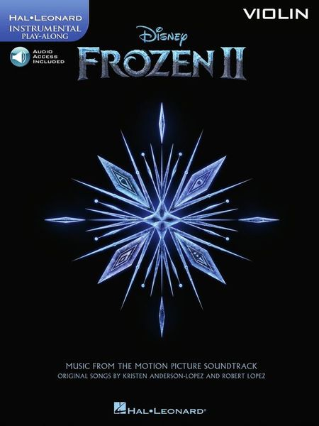 Hal Leonard Frozen II Violin Play-Along