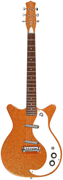 Danelectro 59M NOS+ Orange Metalflake