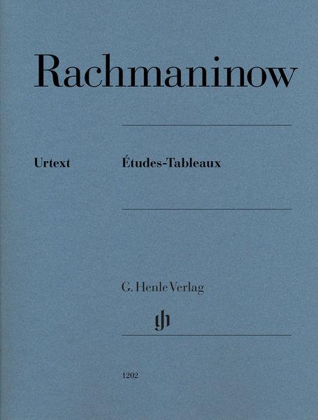 Henle Verlag Rachmaninow Études-Tableaux