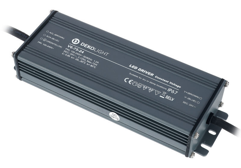 Dekolight Power Supply IP CV V6-75-24