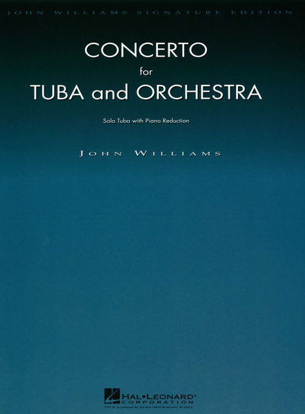 Hal Leonard Williams Concerto For Tuba