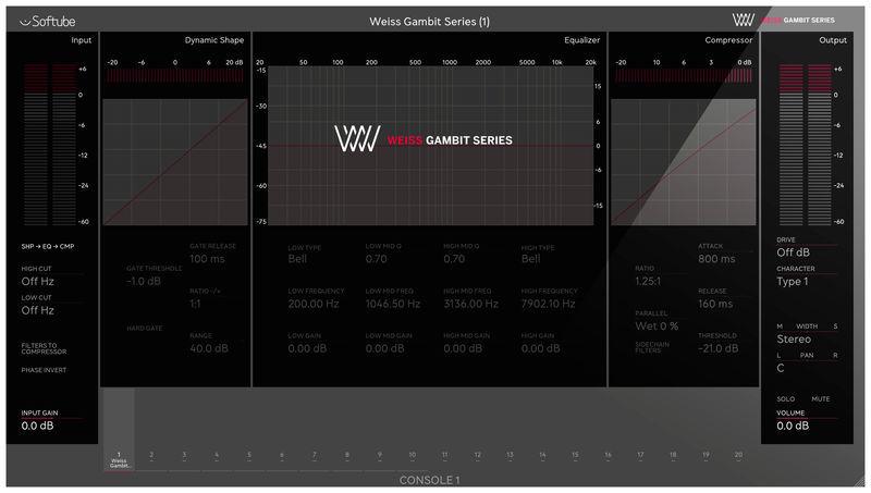 Softube Weiss Gambit Series