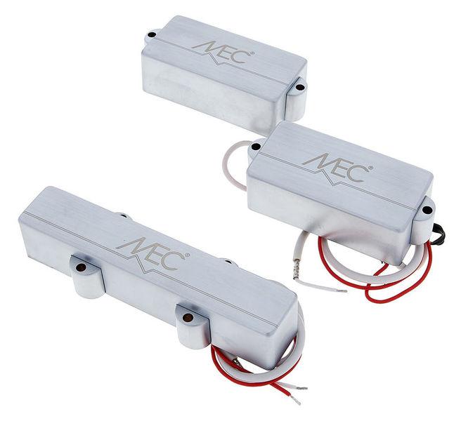 MEC P/J-Style MC-4 Brushed Ch Set
