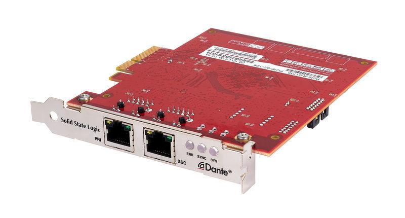 SSL Dante PCIeR