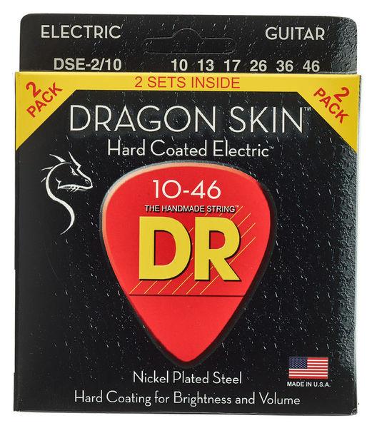 DR Strings Dragon Skin DSE-10-46 2-Pack